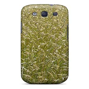 Special AnnetteL Skin Case Cover For Galaxy S3, Popular Field With Wheat Ears Phone Case