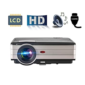 4000 lúmenes HD Video Proyector Resolución 1280x800 1080p Video ...