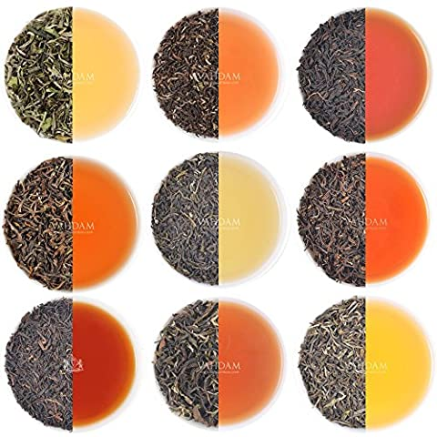 10 Darjeeling Teas Sampler, Including 2017 HARVEST First Flush Teas