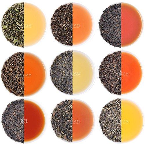 VAHDAM, 10 DARJEELING TEA SAMPLER, 50cups Assorted Tea – F