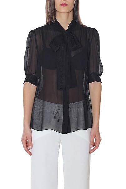 Dolce & Gabbana Camisas - para mujer Negro Tamaño de la marca 42