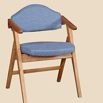 silla plegable Sillas De Plegamiento De Madera Simplicidad ...