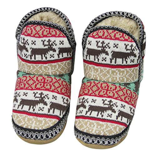 Snow Warm Fuzzy House Bootie Skid Stockings Suede Socks Indoor Women Socks Cozy Slip Gripper Girls Winter Non with Slipper Ankle Fleece Sherpa Boots Soles Knit No Grippers Gift Thick Christmas Lined Slippers on Cute Deer TvYnqwR