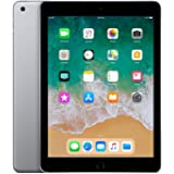Apple iPad (9.7 inch Multi-Touch) Tablet PC 32GB A10 Chip WiFi Bluetooth Camera Retina Display iOS 11 Touch-ID (Space Grey)