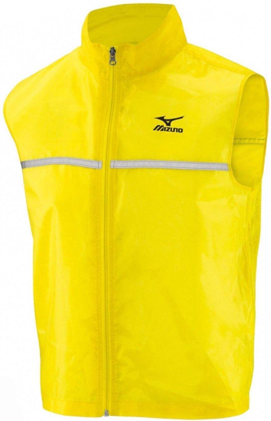 Mizuno Gilet Mens Running Reflective Vest Yellow xl