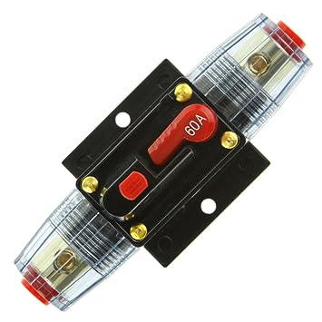 Disjoncteur Porte Fusible V A AUG Protection Voiture Fusible - Porte fusible 12v