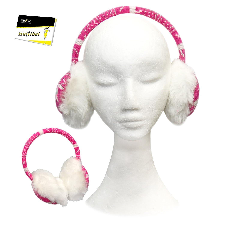 kuschlig warme Ohrenschützer für Mädchen (FBA-204) - inkl. EveryHead-Hutfibel