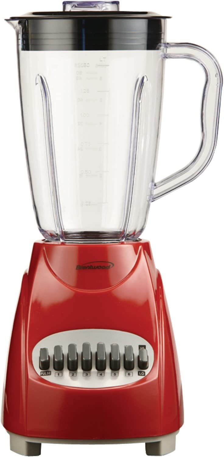 BrentwoodJB-220R12-Speed+PulseBlender,Red