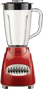 Brentwood JB-220R 12-Speed + Pulse Blender, Red