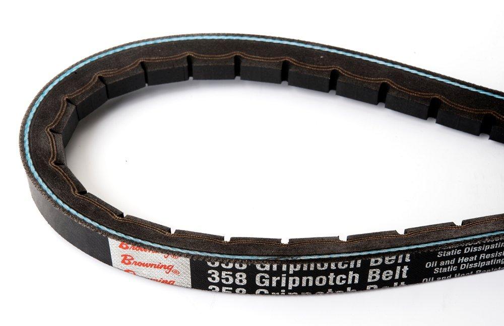 Browning 3VX750 Gripnotch V-Belts, 3VX Belt Section, 358 Gripbelt