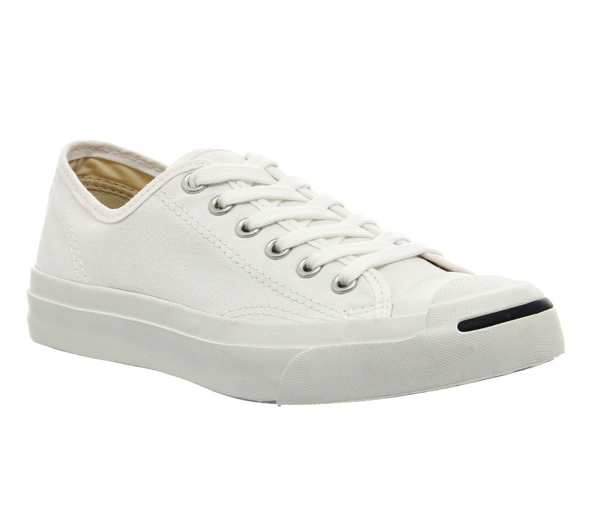 Converse Women's Jack Purcell Cp Canvas Low Top B000B2JTD6 6.5 M US Women / 5 M US Men|White/White