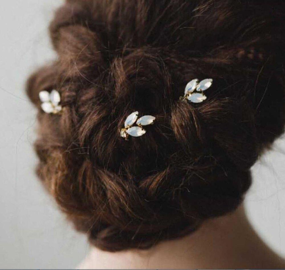 Yean forcine per capelli semplice per donne e ragazze (confezione da 3)