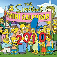 The Simpsons 2010 Mini Calendar