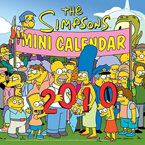 The Simpsons 2010 Mini Calendar 2010 Mini Calendar