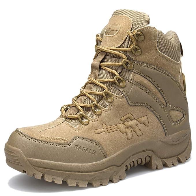 FCBDXN Botas Militares De Combate De Las Fuerzas Especiales Para Hombres Botas Militares De Martin Boot Zapatos Calientes Transpirables Tácticas De Desierto ...