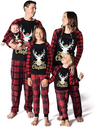 Familia Pijama Navidad Adulto Disfraz Paternidad T Camiseta y ...