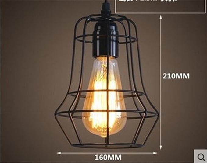 Lampadario Rustico Sospensione : Shengye stile rustico plafoniera lampada a sospensione retrò