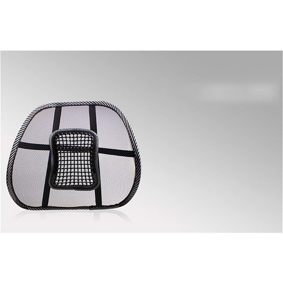 Almohada Ideal para la Espalda Coj/ín de Soporte Lumbar Kongqiabona con Cubierta de Malla Firmeza equilibrada para el Alivio del Dolor Lumbar