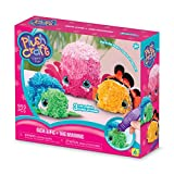 Plushcraft Makes Fabric Crafting Fun And Easy. Use The Stylus To Punch Colorful Fabric Pieces Into Premade Pillows, Room Decor Items And Even 3D Pals. This 10X8.375X3 Inch Package Contains Three Figures, Three Styli, 920 Fabric Pieces And 29 ...