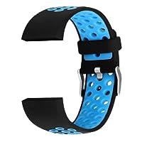 Per SMART Watch sostituzione strap cinturino Fitbit CHARGE2traspirante multi-hole silicone
