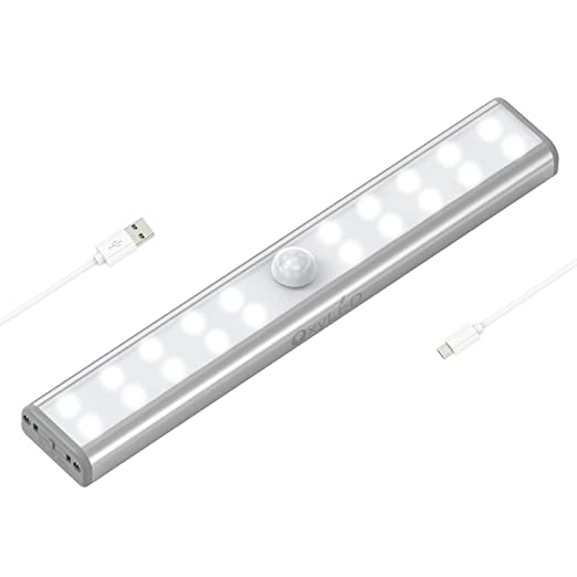 Portable wireless lightoxyled motion sensor closet lights20 led bright cabinet light