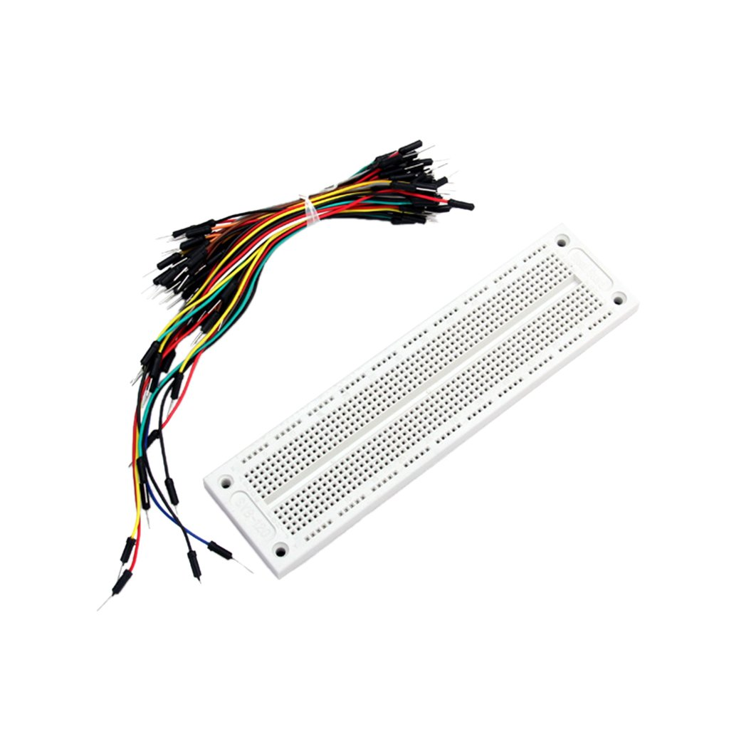 700 Tiepoint Solderless Breadboard 65 Jumpwires By Breadboards Provide A Way Of Creating Circuit Without Generic Home Audio Theater