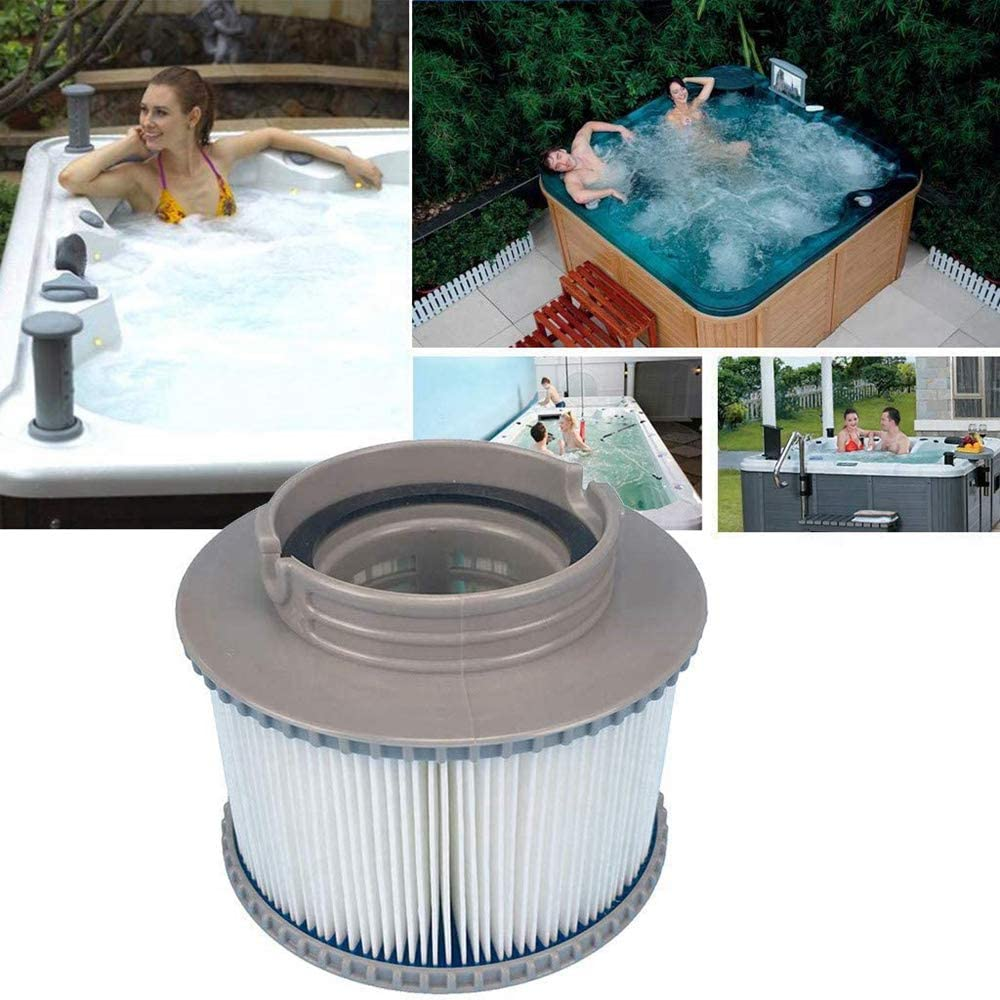 Enhanced 2020 version to fit all MSpa models 4 PCS Replacement Filter Cartridges for MSpa Bubble Spa Hot Tubs