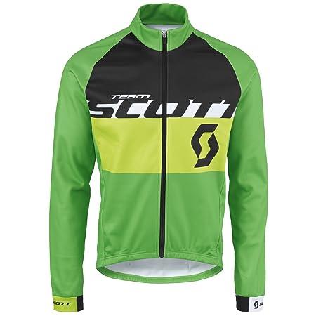 Scott RC Team AS 10 Winter Fahrrad Jacke grünschwarz 2016