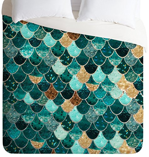 Monika Strigel Really Mermaid Duvet Cover, (Collage Photo Blankets)