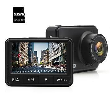 junsun coche Dash Cam cámara DVR 2.4 LCD FHD 1080p monitor de aparcamiento con detección de