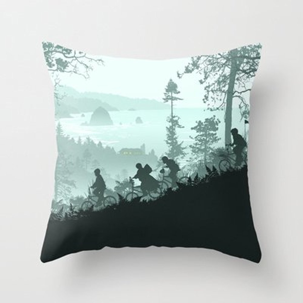 My Honey Pillow Goonies Never Say Die Throw Pillow By Ape Meets Girlfor Your Home zeroo