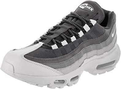 Amazon Com Nike Mens Air Max 95 Sneakers New Wolf Grey Pure