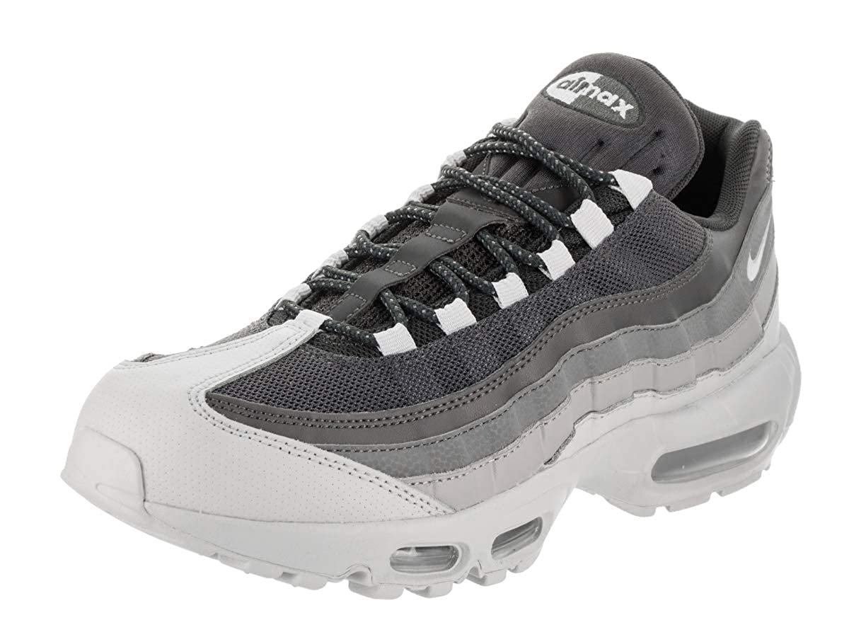 sports shoes 9f876 6a530 Amazon.com   NIKE Mens Air Max 95 Sneakers, Wolf Grey Pure Platinum  749766-029 sz 8   Fashion Sneakers