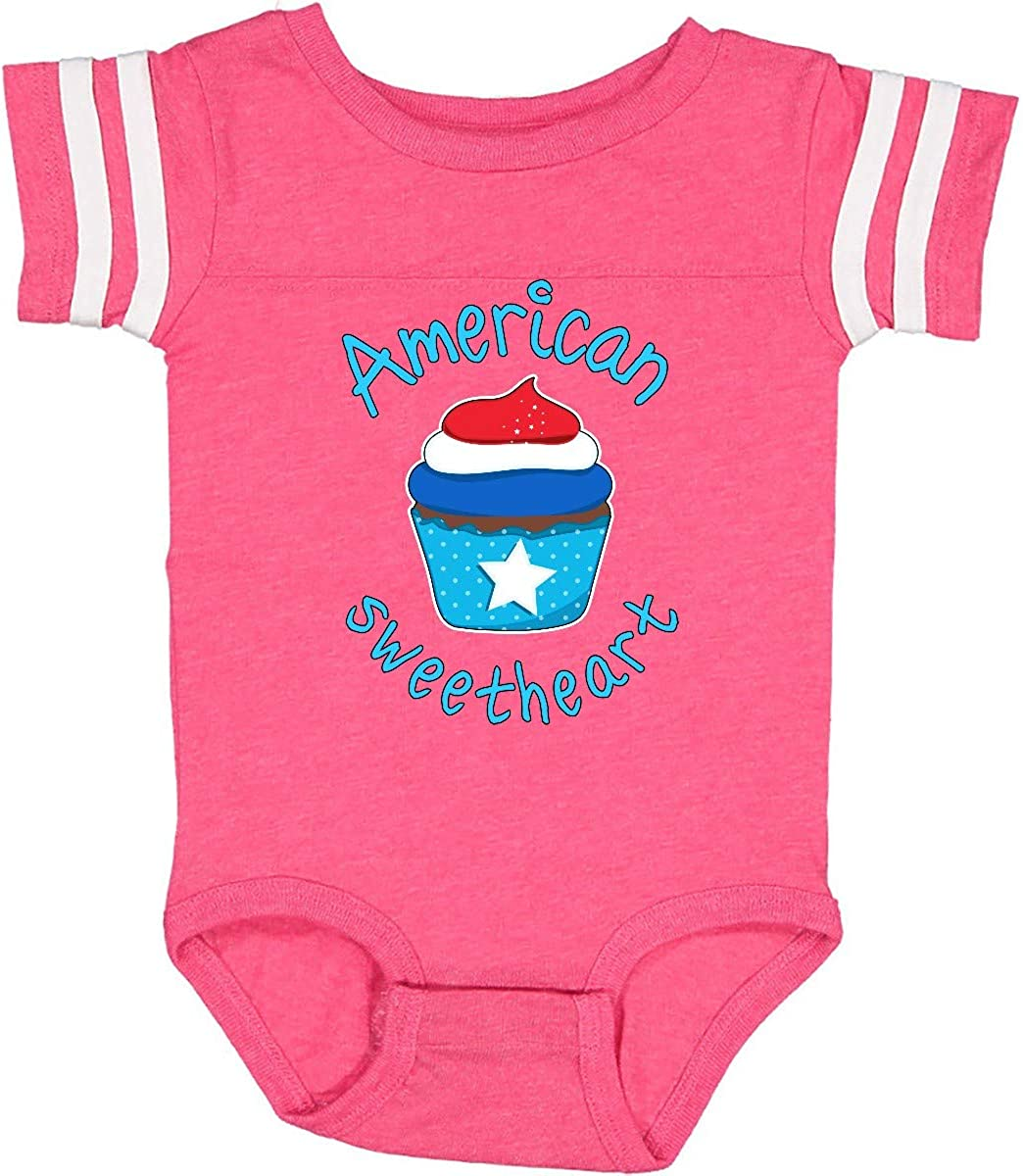inktastic American Sweetheart Infant Creeper