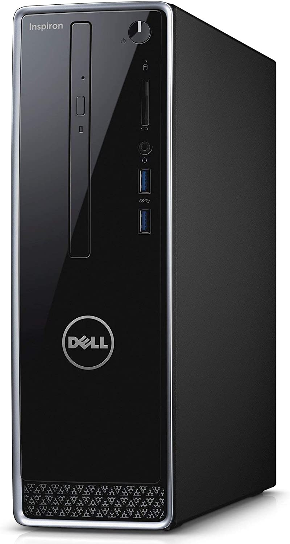 Dell Inspiron 3252 Desktop Computer - Intel Pentium Processor, 8GB RAM, 1TB 7200RPM Hard Drive, Intel HD Graphics, DVD, HDMI, USB 3.0, Bluetooth, Windows 10 (Certified Refurbished)