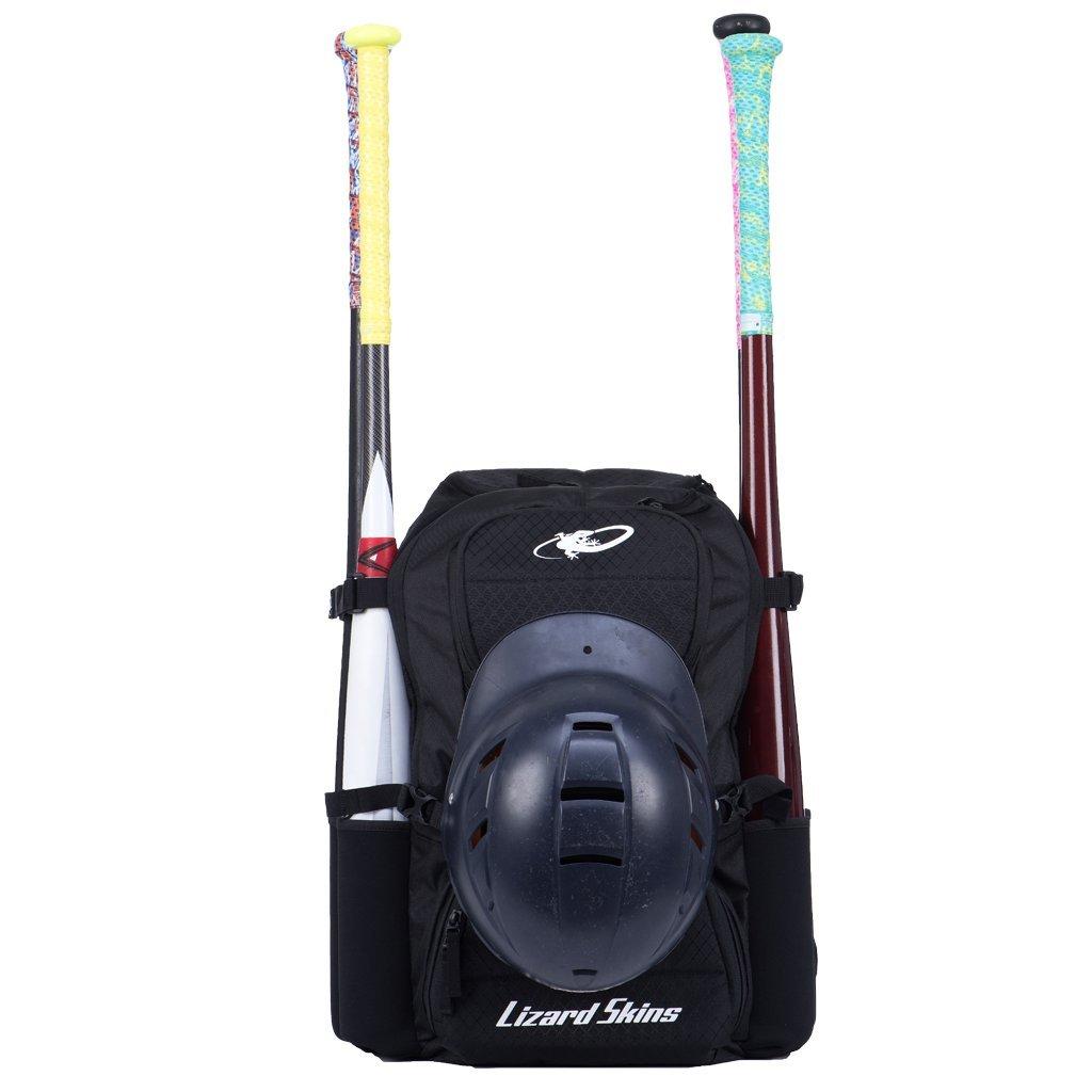 Lizard SkinsキャッシュユーティリティBaseball / Softballバックパックバッグ B074XL2N5Lジェットブラック