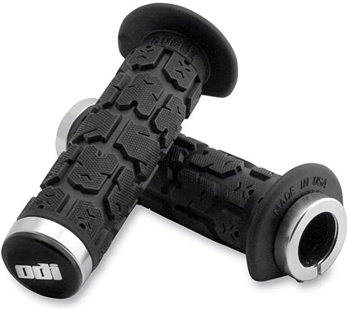 ODI Ruffian 120mm ATV Lock-on Grips Black//Blue J31RFB-U
