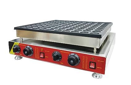 Huanyu Electric Mini Dutch Pancake Poffertjes Baker Maker Machine Iron Mold Pan