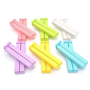 Amazon.com: Enjoymart - Pinzas de sellado de plástico para ...