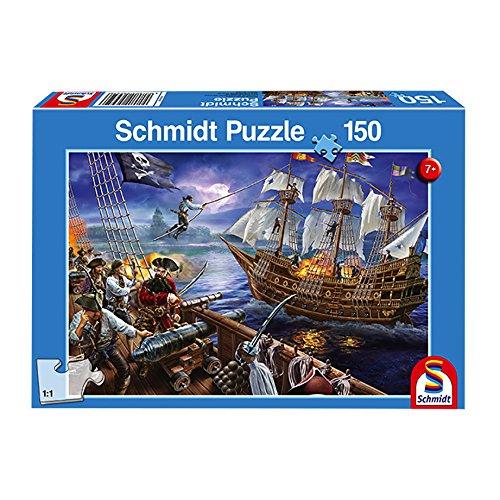 Pirate Adventure Jigsaw - Schmidt Pirate Adventure Jigsaw Puzzle (Piece 150),,