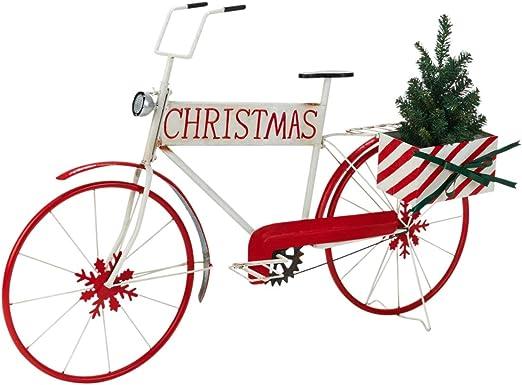 Pureday Objeto Decorativo Santas Bicicleta - Adecuado para ...
