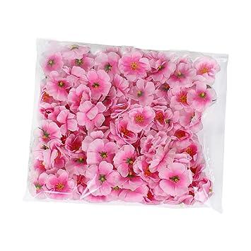 100x Toruiwa Kunstblumen Künstliche Deko Blumen