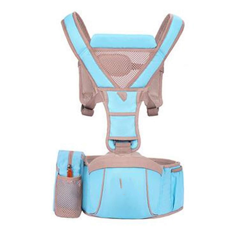Amazon.com : Baby Carrier Hipseat Kangaroo Rucksack Mochila Portabebe Ergonomic Baby Carrier 360 Hip Seat Baby Sling for Newborn, Sky Blue : Baby