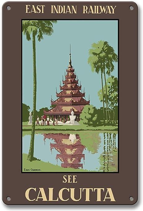 Larry Sageasd See Calcuta, India - Pagoda birmana en Eden Gardens ...