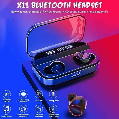 xuanyang524 X11 TWS Auriculares inalámbricos Bluetooth 5.0 ...