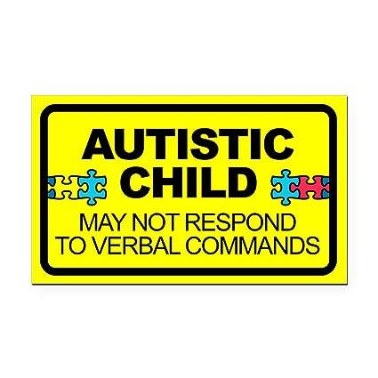 Cafepress autism child car decal rectangle car magnet rectangle car magnet magnetic bumper