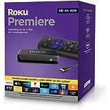 ROKU Premiere Dispositivo de Streaming HD/ 4K/HDR, Control Remoto Simple y Cable HDMI Premium