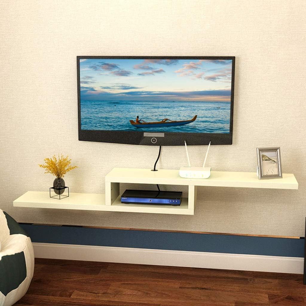 LBYMYB Estantería de Pared Estante para TV Rack de TV Set-Top Box Estante Consola de TV Sala de Estar Dormitorio TV Decoración de Pared Decoración de Muebles Decoración Marco de Pared: Amazon.es: