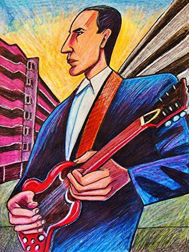 PETE TOWNSHEND PRINT POSTER guitar cd lp record album vinyl Who gibson sg tommy quardophenia woodstock