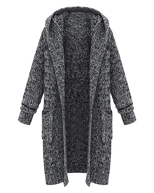 erstaunliche Qualität 2019 am besten am besten kaufen Tomwell Damen Lange Strickjacke Grobstrick Pullover Cardigan ...